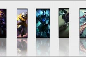 五个LOL英雄