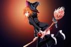 橙色头发的女巫