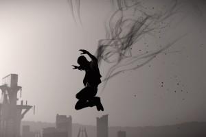 跳跃的黑色