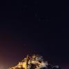 布达拉宫的星空