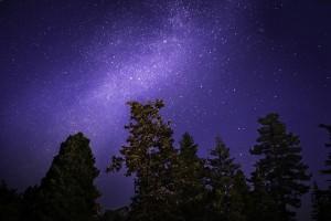 漫天的星空