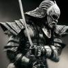 日本带面具的武士