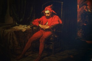 红衣服的小丑
