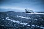 冰岛的残缺飞机