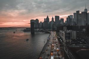 纽约的黄昏