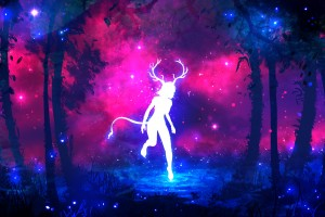 森林里的鹿女