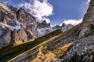岩石的大山