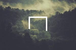 森林里的相框
