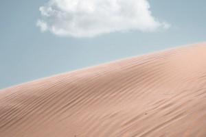 沙漠和天空