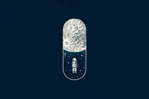 宇航员的胶囊