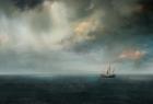 海上的船舶