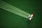 草场上的飞机