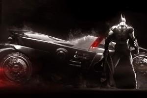蝙蝠侠与战车