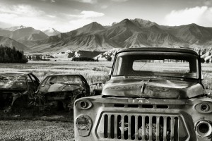 废旧的老爷车