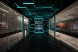 科技感房间