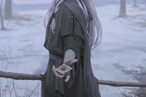 戴眼罩的女巫