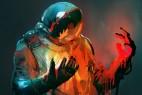 宇航员融化