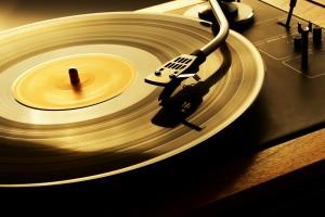 老式唱片机