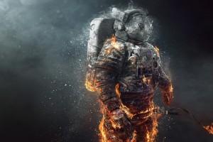 碎裂的宇航员