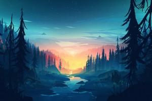 静谧的森林